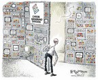 Cartoonist Nick Anderson  Nick Anderson's Editorial Cartoons 2006-02-19 division