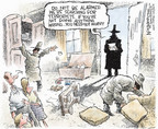 Cartoonist Nick Anderson  Nick Anderson's Editorial Cartoons 2006-05-14 fourth amendment