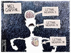Cartoonist Nick Anderson  Nick Anderson's Editorial Cartoons 2006-08-02 mouth