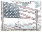 Cartoonist Nick Anderson  Nick Anderson's Editorial Cartoons 2006-08-30 border fence