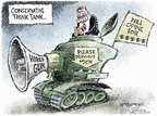 Cartoonist Nick Anderson  Nick Anderson's Editorial Cartoons 2006-10-15 political credibility