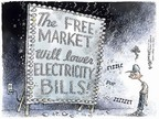 Cartoonist Nick Anderson  Nick Anderson's Editorial Cartoons 2006-10-17 economic demand