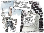 Cartoonist Nick Anderson  Nick Anderson's Editorial Cartoons 2006-11-05 media bias