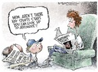 Cartoonist Nick Anderson  Nick Anderson's Editorial Cartoons 2007-01-31 baseball