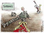 Cartoonist Nick Anderson  Nick Anderson's Editorial Cartoons 2007-03-06 veteran