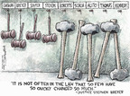 Cartoonist Nick Anderson  Nick Anderson's Editorial Cartoons 2007-07-01 Samuel Alito