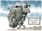 Cartoonist Nick Anderson  Nick Anderson's Editorial Cartoons 2007-09-16 Bush and democrats