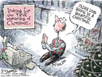 Cartoonist Nick Anderson  Nick Anderson's Editorial Cartoons 2007-11-25 Christmas shopping