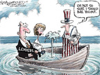 Cartoonist Nick Anderson  Nick Anderson's Editorial Cartoons 2007-12-06 lifeboat