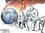 Cartoonist Nick Anderson  Nick Anderson's Editorial Cartoons 2007-12-14 climate