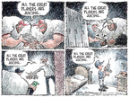 Cartoonist Nick Anderson  Nick Anderson's Editorial Cartoons 2007-12-16 baseball