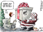 Cartoonist Nick Anderson  Nick Anderson's Editorial Cartoons 2007-12-20 minimum tax
