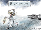Cartoonist Nick Anderson  Nick Anderson's Editorial Cartoons 2008-03-27 limousine