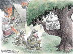 Cartoonist Nick Anderson  Nick Anderson's Editorial Cartoons 2008-04-06 economic