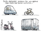 Cartoonist Nick Anderson  Nick Anderson's Editorial Cartoons 2008-06-24 bicycle