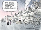 Cartoonist Nick Anderson  Nick Anderson's Editorial Cartoons 2008-09-21 economic