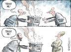 Cartoonist Nick Anderson  Nick Anderson's Editorial Cartoons 2008-09-28 taxpayer