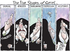 Cartoonist Nick Anderson  Nick Anderson's Editorial Cartoons 2008-10-05 Financial Market