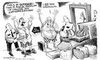 Cartoonist Nick Anderson  Nick Anderson's Editorial Cartoons 2002-01-11 airline travel