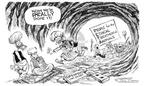 Cartoonist Nick Anderson  Nick Anderson's Editorial Cartoons 2002-08-21 animal