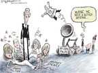 Cartoonist Nick Anderson  Nick Anderson's Editorial Cartoons 2008-10-17 McCain Palin
