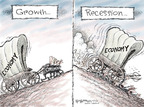 Cartoonist Nick Anderson  Nick Anderson's Editorial Cartoons 2008-10-31 economic