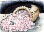 Cartoonist Nick Anderson  Nick Anderson's Editorial Cartoons 2008-11-18 economic
