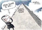 Cartoonist Nick Anderson  Nick Anderson's Editorial Cartoons 2008-12-21 Financial Market
