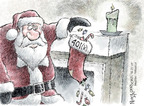 Cartoonist Nick Anderson  Nick Anderson's Editorial Cartoons 2008-12-25 financial plan