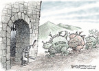 Cartoonist Nick Anderson  Nick Anderson's Editorial Cartoons 2009-01-09 recession