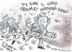 Cartoonist Nick Anderson  Nick Anderson's Editorial Cartoons 2009-02-10 Bush administration