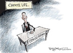 Cartoonist Nick Anderson  Nick Anderson's Editorial Cartoons 2009-03-10 science