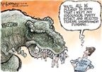 Cartoonist Nick Anderson  Nick Anderson's Editorial Cartoons 2009-03-15 recession