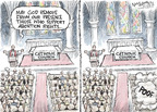 Cartoonist Nick Anderson  Nick Anderson's Editorial Cartoons 2009-05-19 Nick Anderson