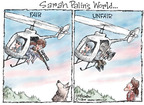 Cartoonist Nick Anderson  Nick Anderson's Editorial Cartoons 2009-07-28 animal