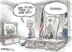 Cartoonist Nick Anderson  Nick Anderson's Editorial Cartoons 2009-08-01 vice president
