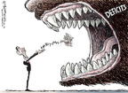 Cartoonist Nick Anderson  Nick Anderson's Editorial Cartoons 2009-08-26 mouth