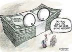 Cartoonist Nick Anderson  Nick Anderson's Editorial Cartoons 2009-09-30 debt
