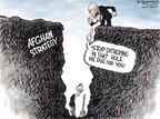 Cartoonist Nick Anderson  Nick Anderson's Editorial Cartoons 2009-10-25 vice president