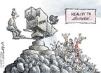 Cartoonist Nick Anderson  Nick Anderson's Editorial Cartoons 2009-12-01 reality television