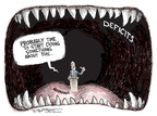 Cartoonist Nick Anderson  Nick Anderson's Editorial Cartoons 2010-04-15 Federal Reserve Bank