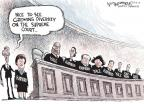Cartoonist Nick Anderson  Nick Anderson's Editorial Cartoons 2010-05-11 Samuel Alito