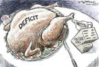 Cartoonist Nick Anderson  Nick Anderson's Editorial Cartoons 2010-11-12 spending cut