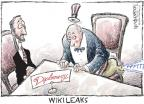 Cartoonist Nick Anderson  Nick Anderson's Editorial Cartoons 2010-12-01 diplomat