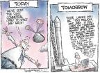 Cartoonist Nick Anderson  Nick Anderson's Editorial Cartoons 2010-12-10 travel cost