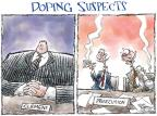 Cartoonist Nick Anderson  Nick Anderson's Editorial Cartoons 2011-07-15 baseball