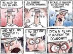 Cartoonist Nick Anderson  Nick Anderson's Editorial Cartoons 2011-07-26 debt