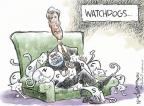 Cartoonist Nick Anderson  Nick Anderson's Editorial Cartoons 2012-06-15 dog and cat