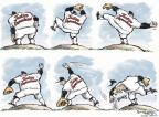 Cartoonist Nick Anderson  Nick Anderson's Editorial Cartoons 2012-06-20 baseball