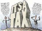 Cartoonist Nick Anderson  Nick Anderson's Editorial Cartoons 2012-07-04 tax